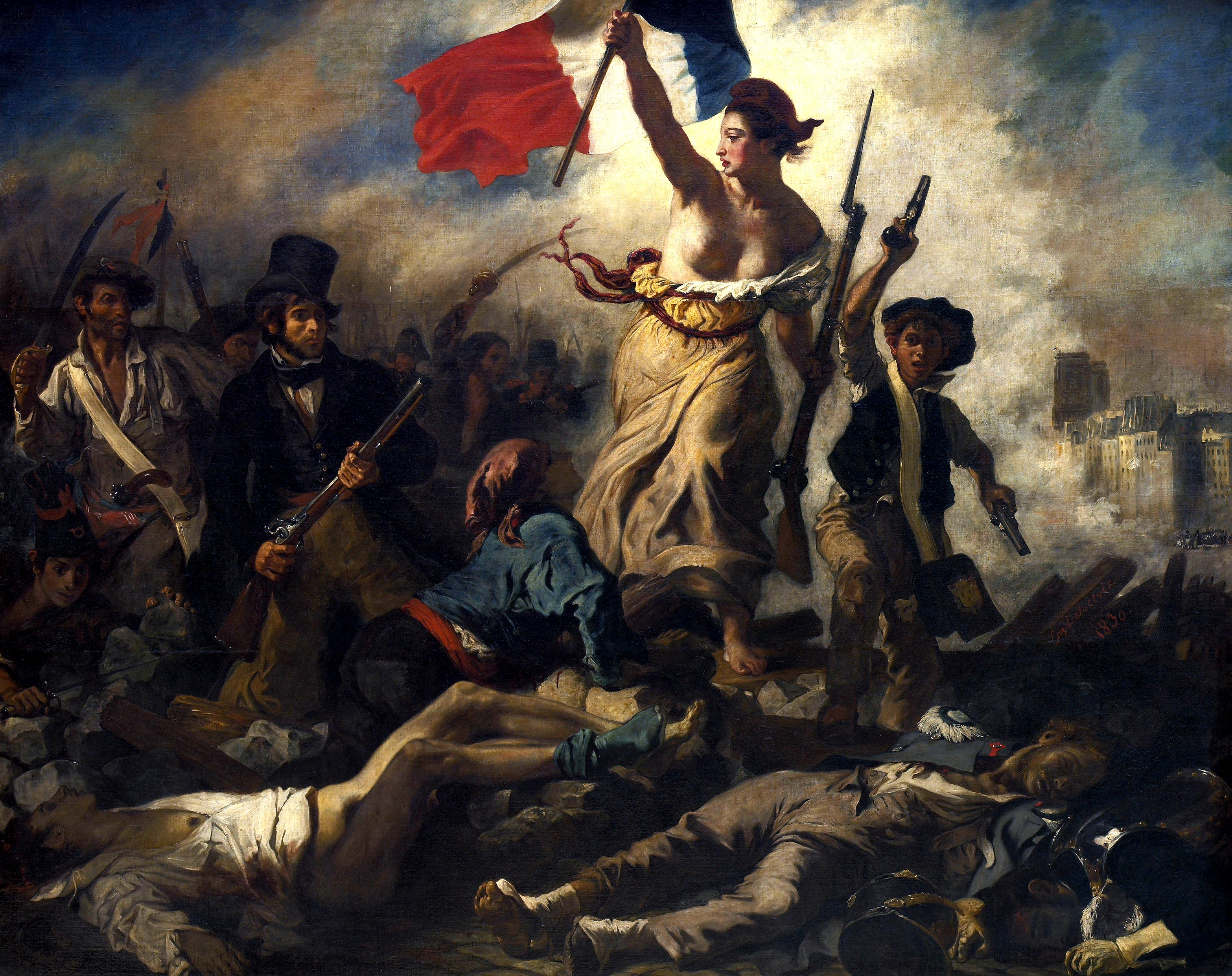 negative liberty the genealogy of consent delacroix la liberteacute guidant le peuple credit