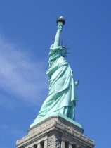 The Statue of Liberty. Credit: Wikipedia