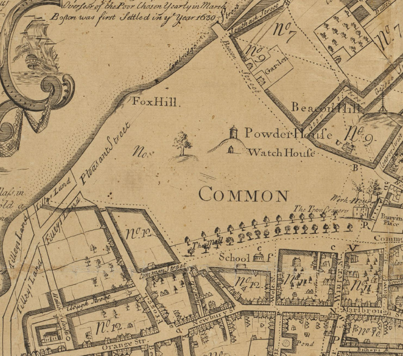 Americas Most Enduring Common Ground The Genealogy Of Consent - Boston common map